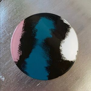 "DVF ""Aura"" glass coasters—set of four"